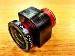 czerwony obiektyw olloclip