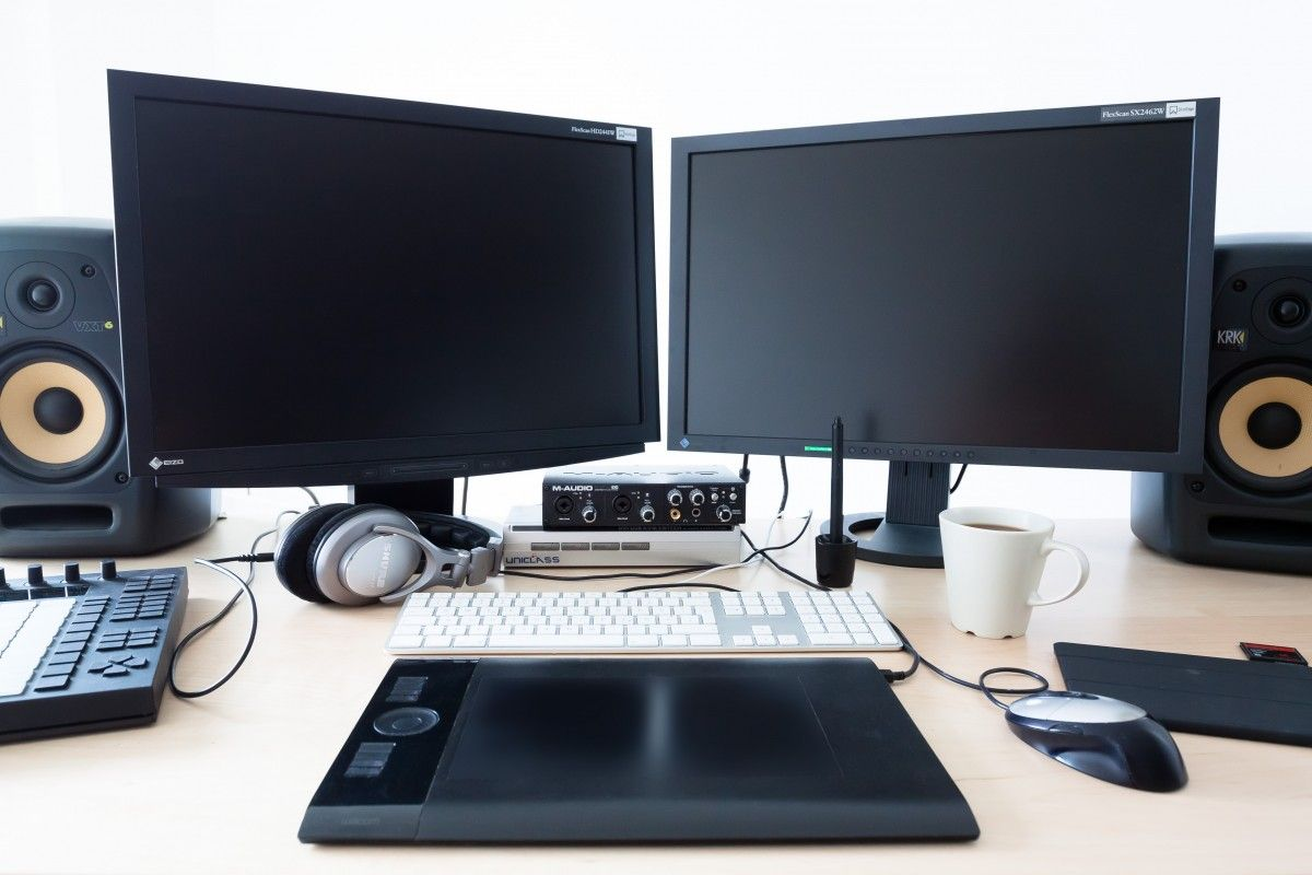 monitory komputerowe