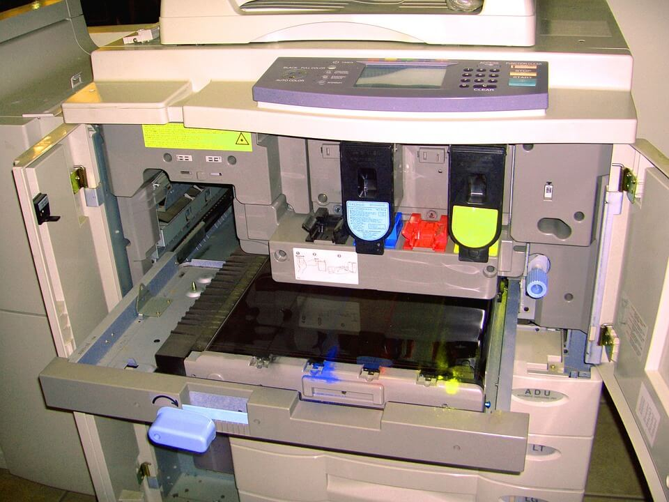 drukarka oddana do serwisu