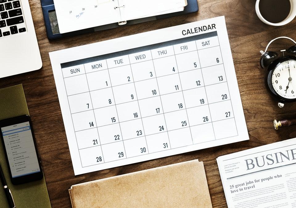 kalendarz uk