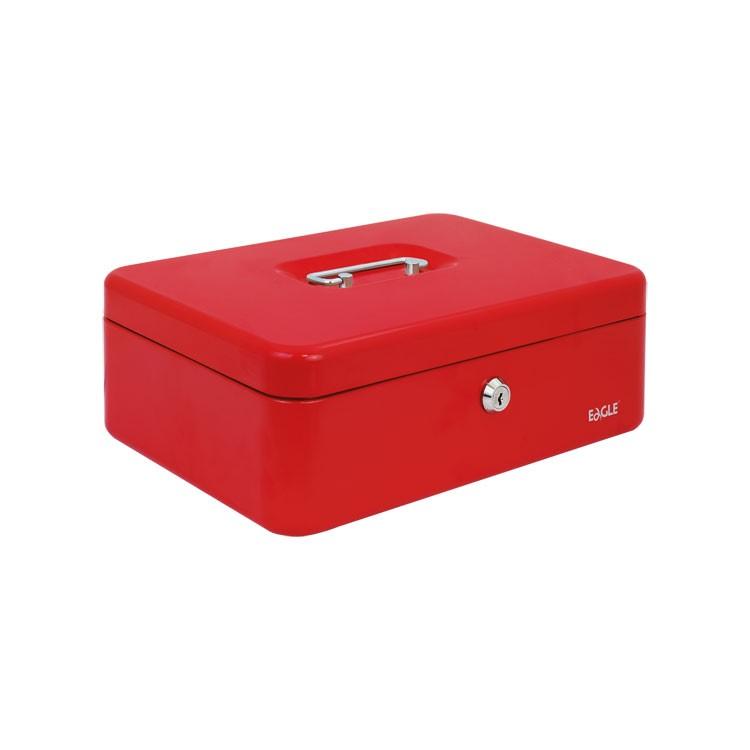kasetka na pieniądze czerwona